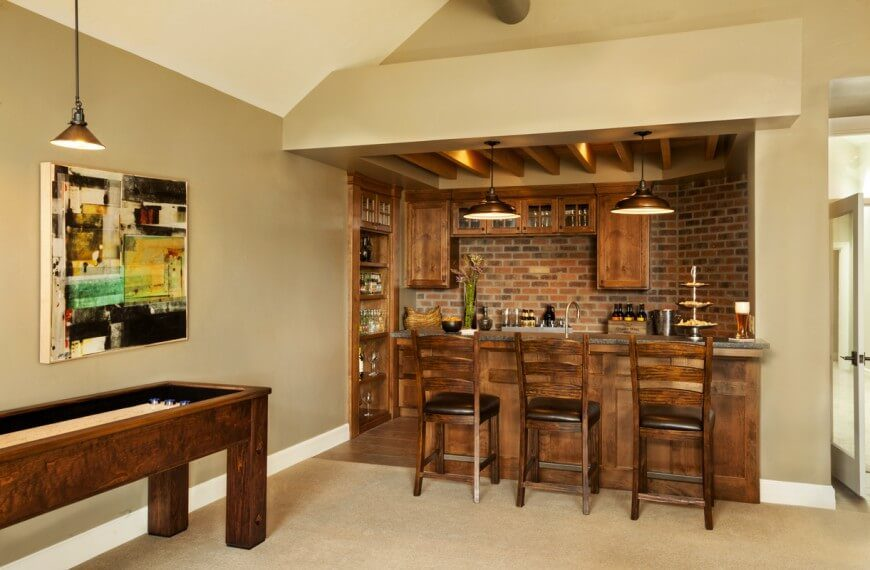 Beau Wonderful Game Room Bar Designs Pictures   Best Inspiration Home .