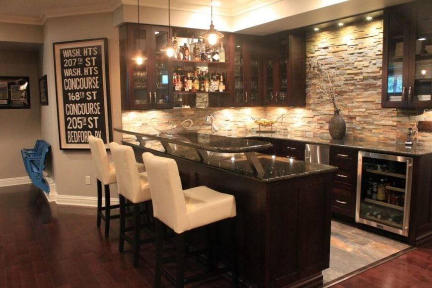 37 incredible home bar designs wet and dry - Luxury home bar designs ...