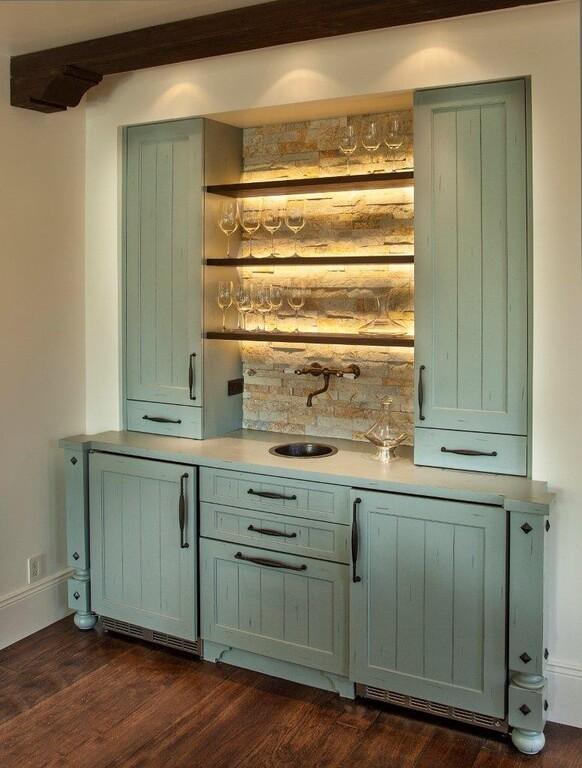 Home Bar Shelves Designs