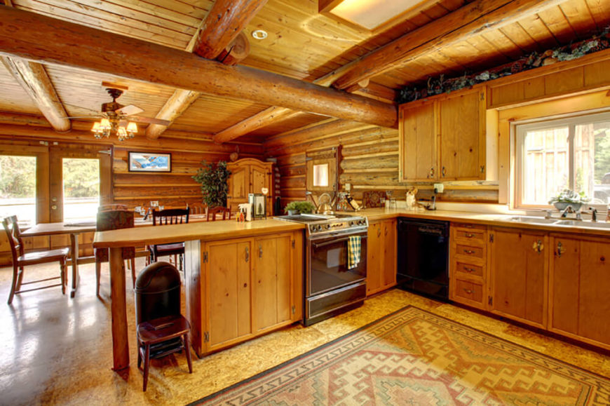 27 Quaint Rustic Kitchen Designs (Tons Of Variety)