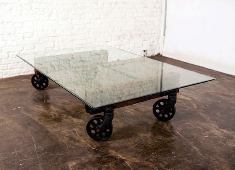 Image Result For Iron And Glass Coffee Table