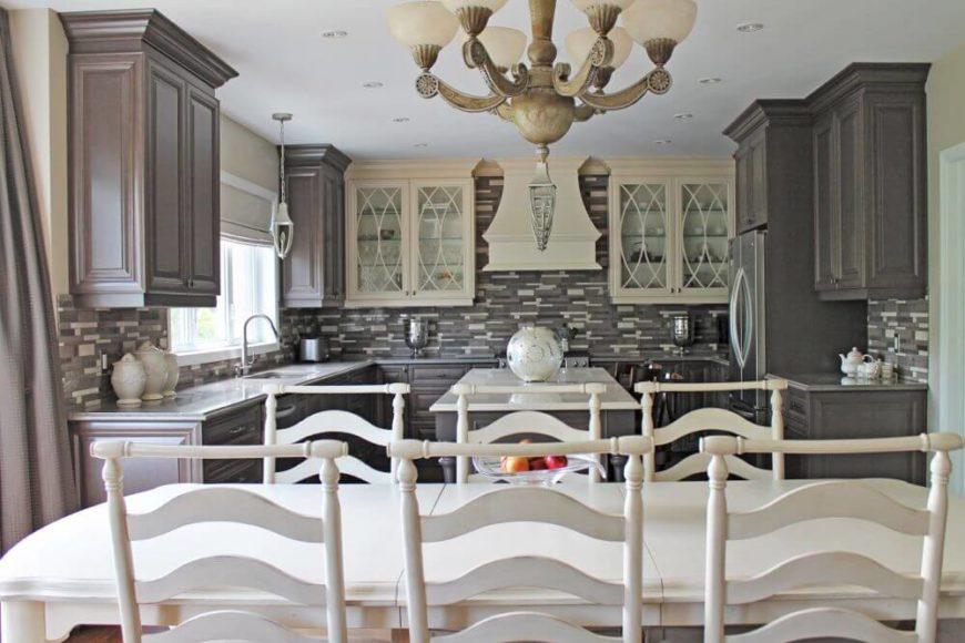 Florence inspired kitchen design.