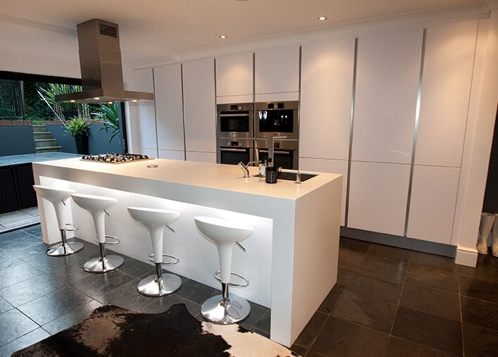 Using An Island In The Kitchen