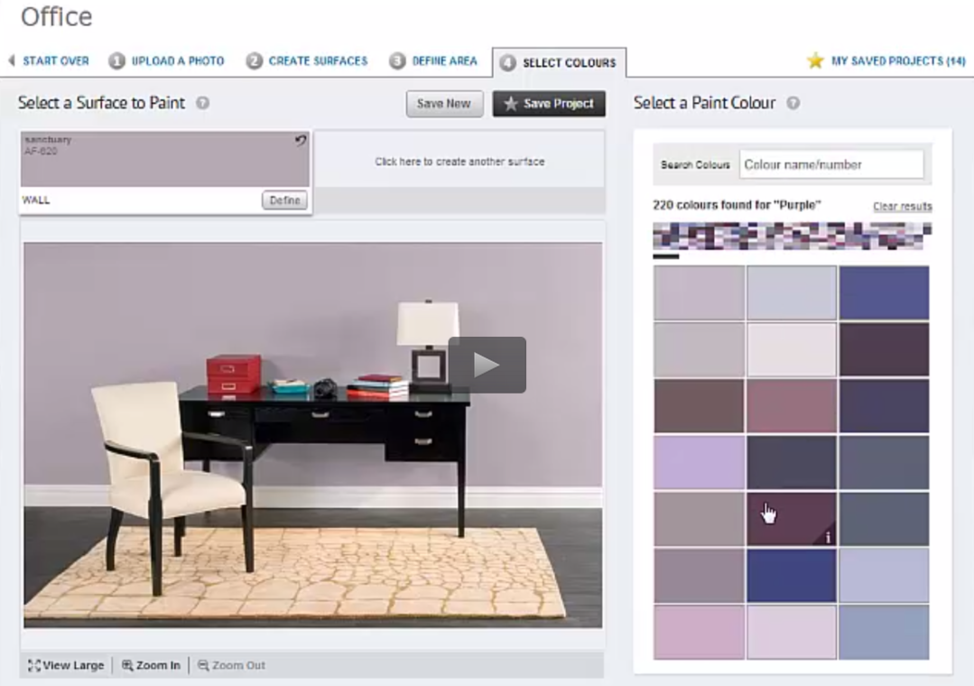 The best free virtual paint color software online 5 options for Paint your home online