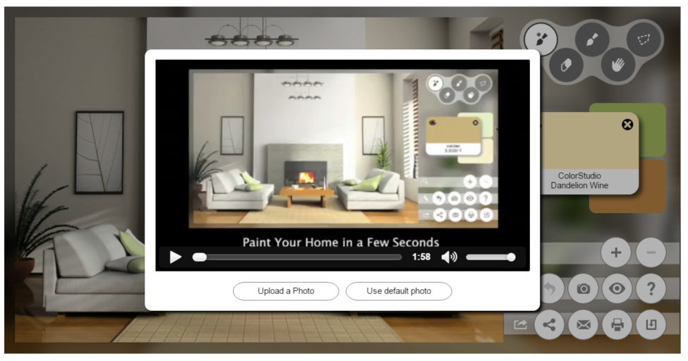 Try paint colors virtual room the best free virtual for Paint your home online