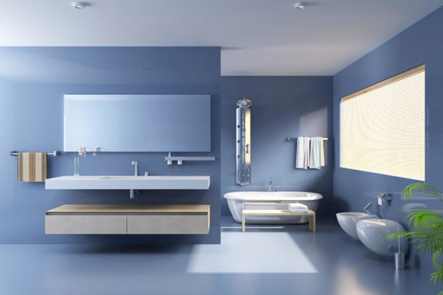 Welcome To Our Gallery Featuring A Wide Variety Of Bathrooms With Floating Sinks