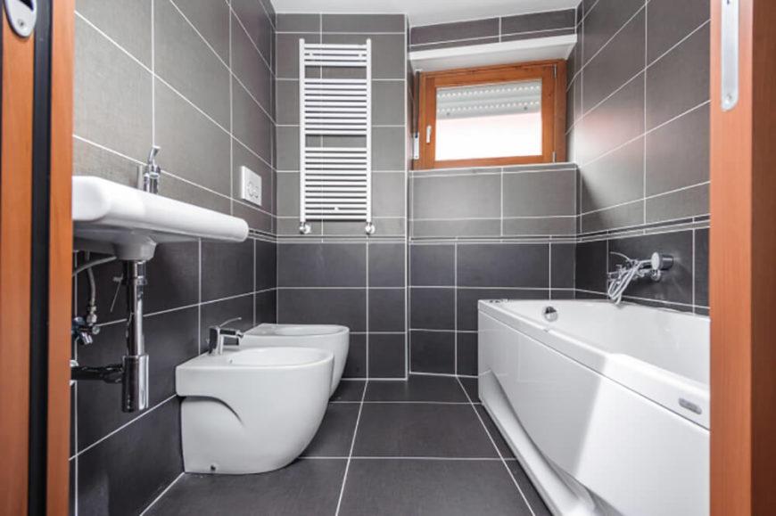 29 Bathrooms with Stylish Floating Sinks - Décoration de la maison
