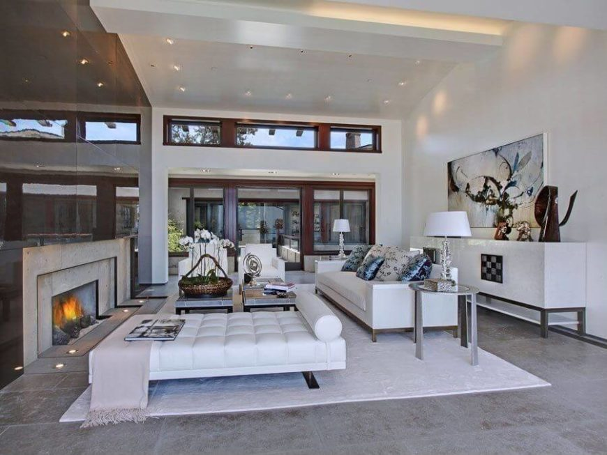 large open living room this space is well lit by both natural and