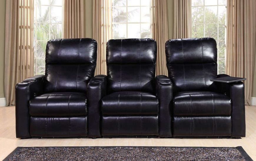 This stylish microsuede home theater seating is a feature-packed addition to your man cave & 25 Best Man Cave Chairs islam-shia.org