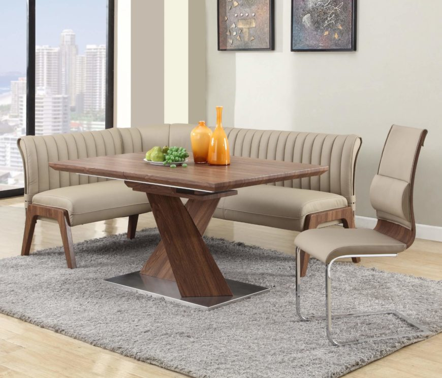 Top 16 Types of Corner Dining Sets PICTURES : 10 corner table 870x745 from www.homestratosphere.com size 870 x 745 jpeg 86kB