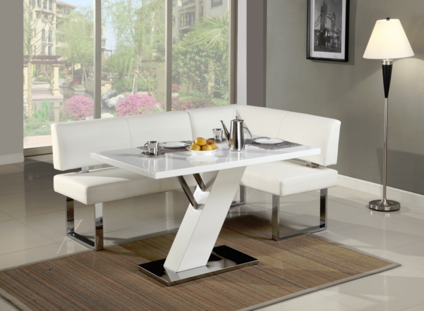 Beautiful Our Final Corner Dining Set Is Another Solid Example Of Sleekly Modern  Style, With A