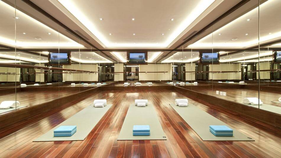 luxury home yoga studio design - Home Yoga Room Design