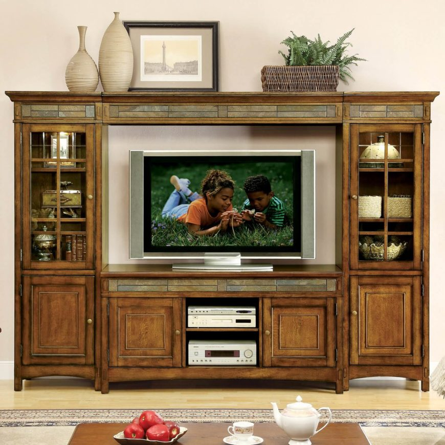 Tv Stand Designs For Living Room : Great craftsman living room and family design ideas