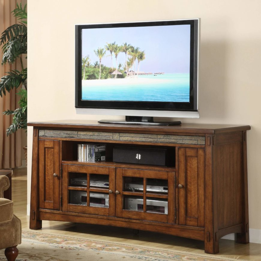 Glass Tv Stand In Rooms To Go Newport News