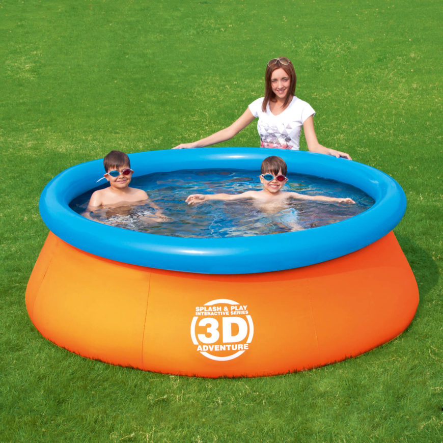 16 Fun Inflatable Pool Ideas