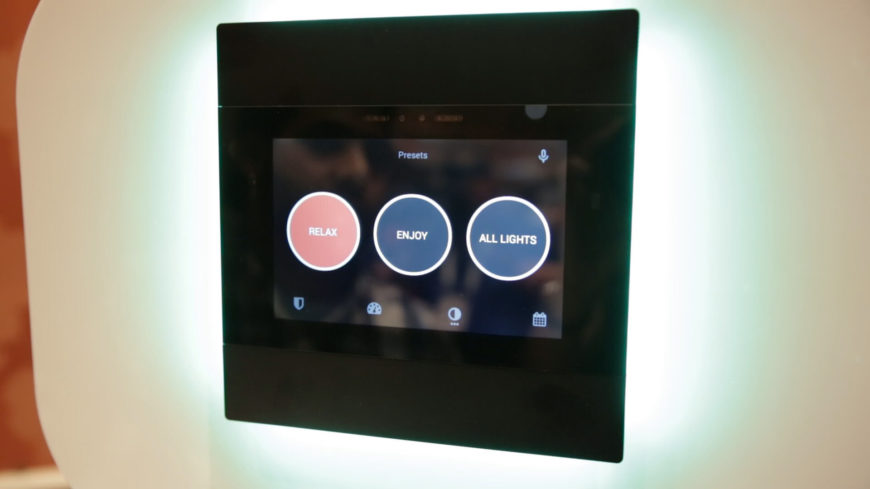 Smart home project and voice recognition
