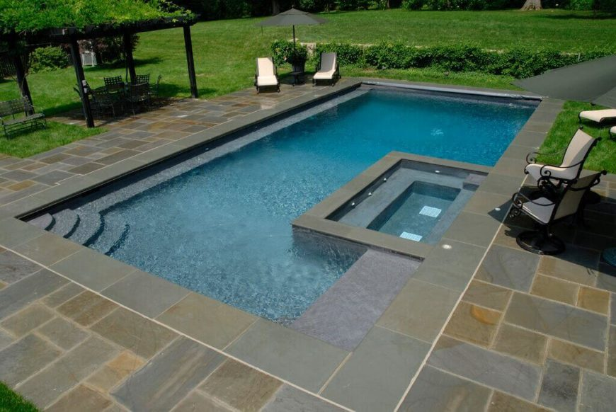 31 unique pool shapes and designs for Pool designs images