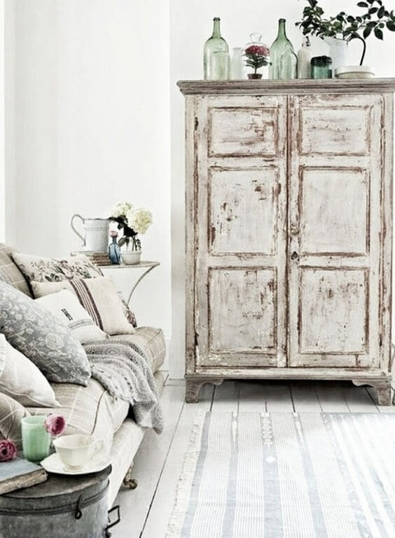 20 Marvelous Shabby Chic Living Room Ideas