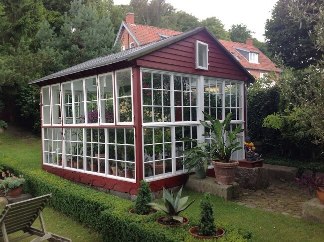 Backyard Greenhouse Ideas image of easy greenhouse ideas A Greenhouse Does Not Need To Be Entirely Covered In The Glazing Material Here Is
