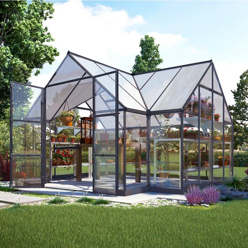 23 wonderful backyard greenhouse ideas. Black Bedroom Furniture Sets. Home Design Ideas