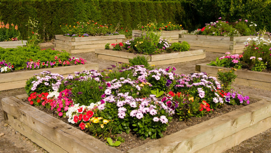 Raised Flower Bed Design Ideas Home Design Ideas