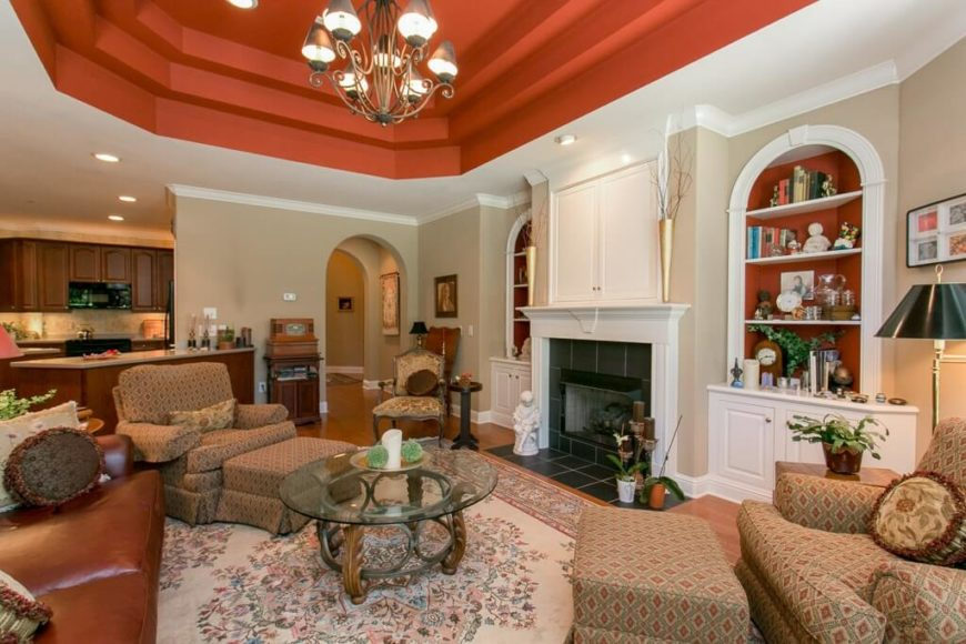 ceiling colors for living room - Living Room Ceiling Colors