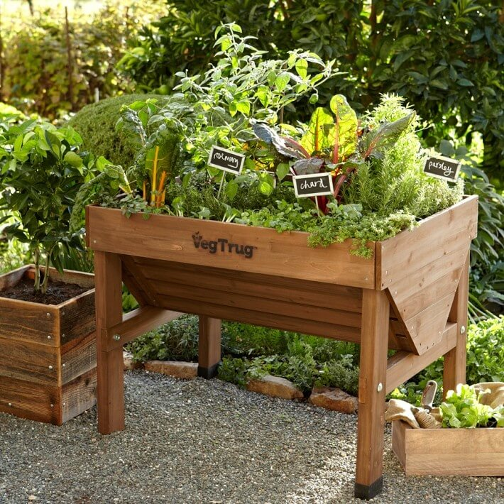 24 fantastic backyard vegetable garden ideas for Vegetable patch ideas