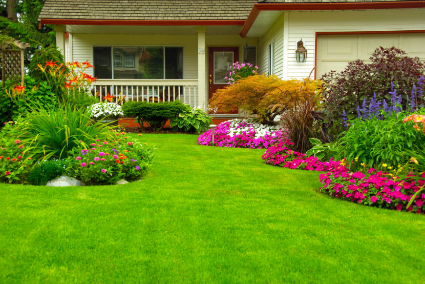 Planting Beds Design Ideas front flower bed landscaping ideas how much does landscaping improve home valueresolution 25 Magical Flower Bed Ideas And Designs