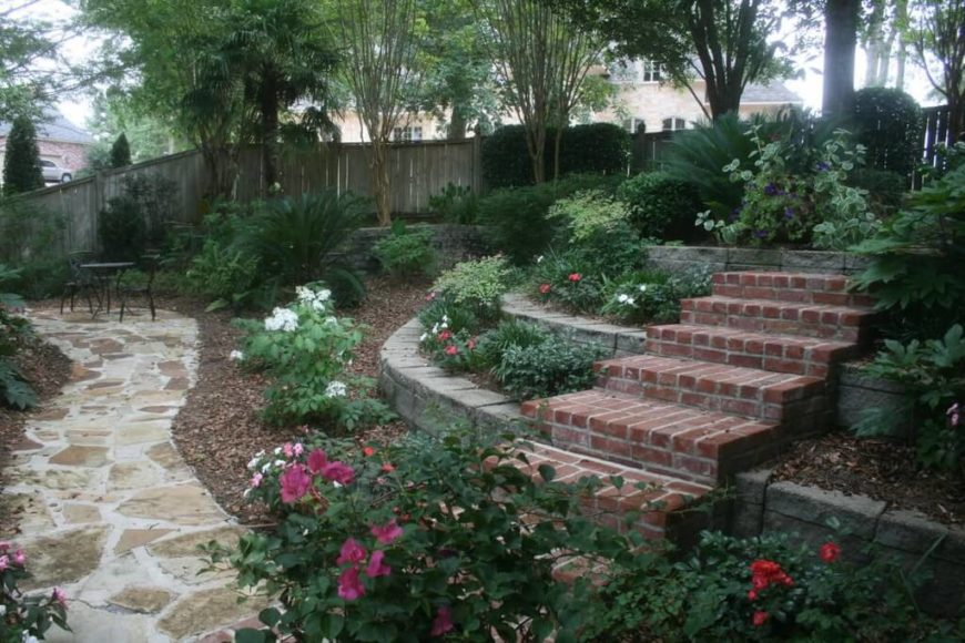 25 magical flower bed ideas and designs - Stone and flower garden design ideas ...