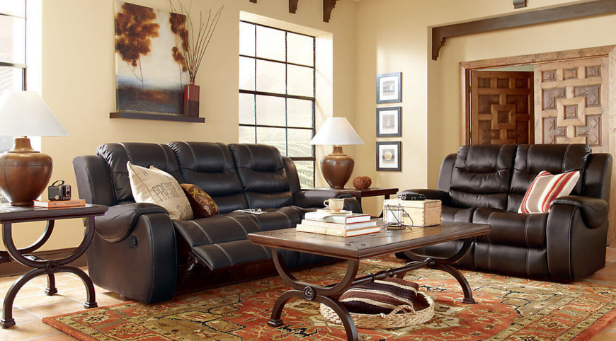 to create a cohesive and unified look to your room having your furniture match can