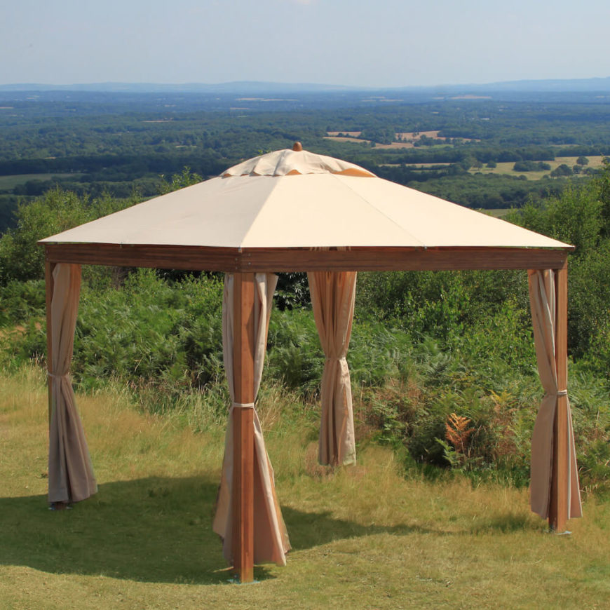 Backyard Pavilion Designs amazing patio pavilion and backyard pavillion designs 3 home sweet home pinterest Here Is A Simple Wood And Canvas Portable Pavilion This Is A Great Pavilion For