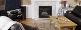 6 - Living Room Decor Ideas - iStock - Fireplaces - Marble Wood