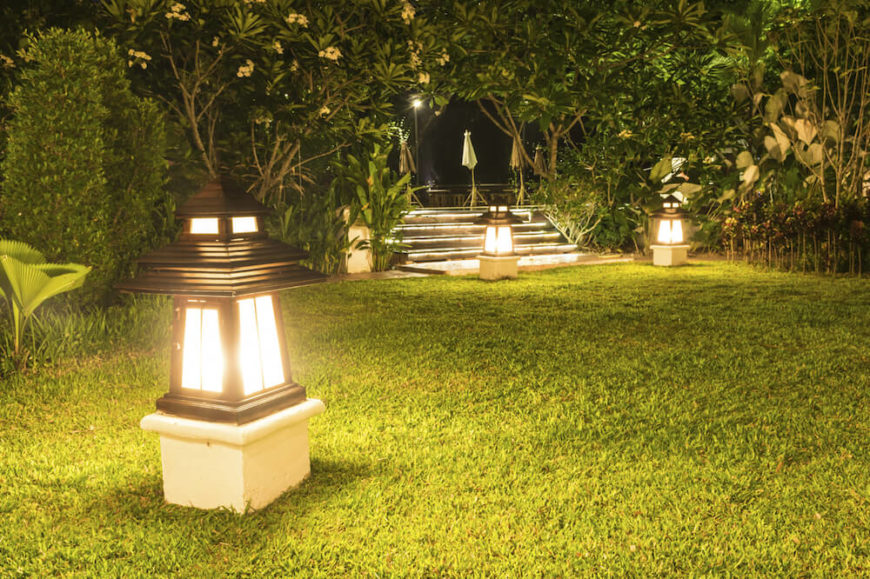 29 fantastic garden lighting ideas for Garden lighting designs