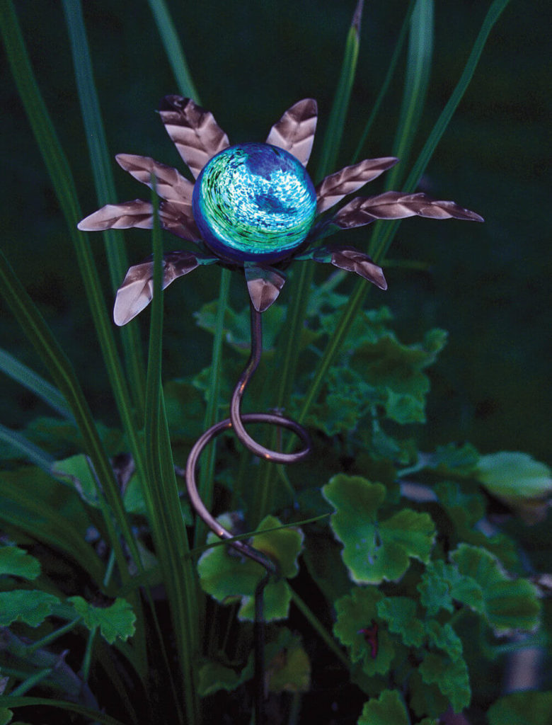 amazing garden lighting flower. ere is an amazing piece during the day this looks like artwork garden lighting flower f