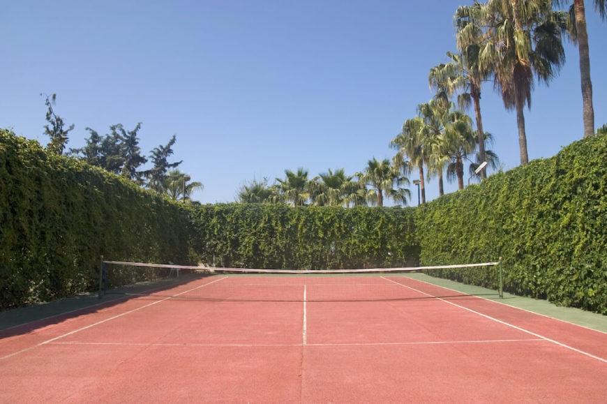 22 backyard tennis court ideas