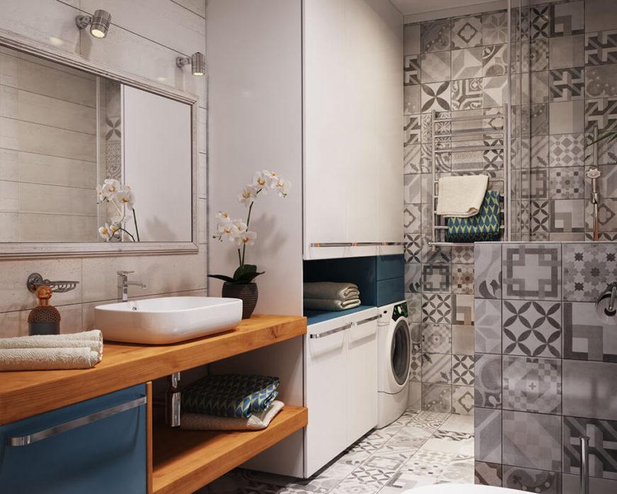 Tiles X Living Room