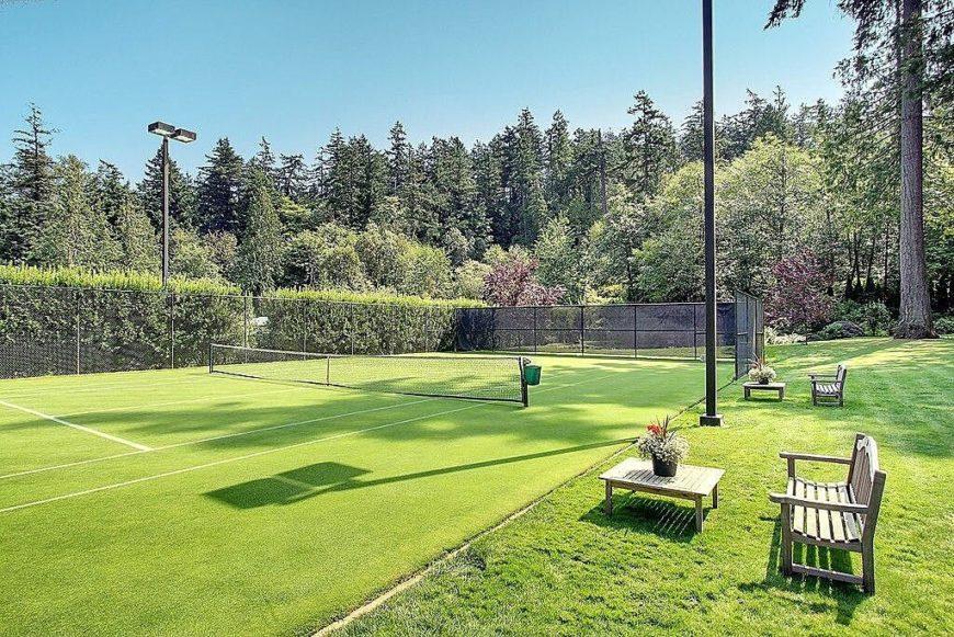 14z backyard tennis court ideas