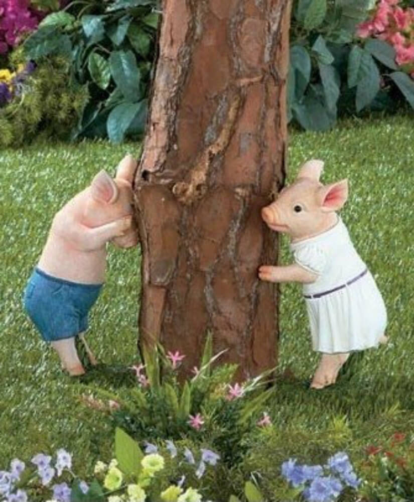 Outdoor decor statues - If You Prefer A Fairy Tale Aesthetic In Your Yard You Can Get A Sculpture Like