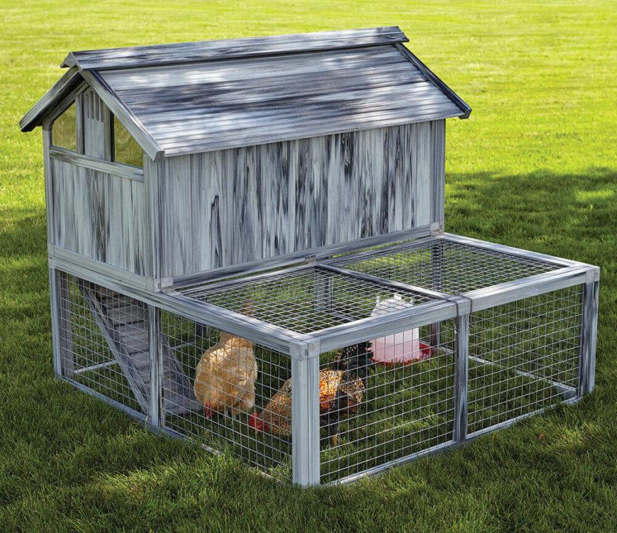 33 backyard chicken coop ideas d coration de la maison for Model chicken set