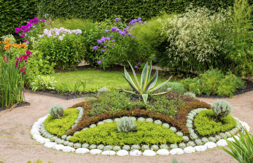Garden Design With Vibrant Plant Ideas Home Stratosphere Front Lawn Landscaping From Homestratosphere