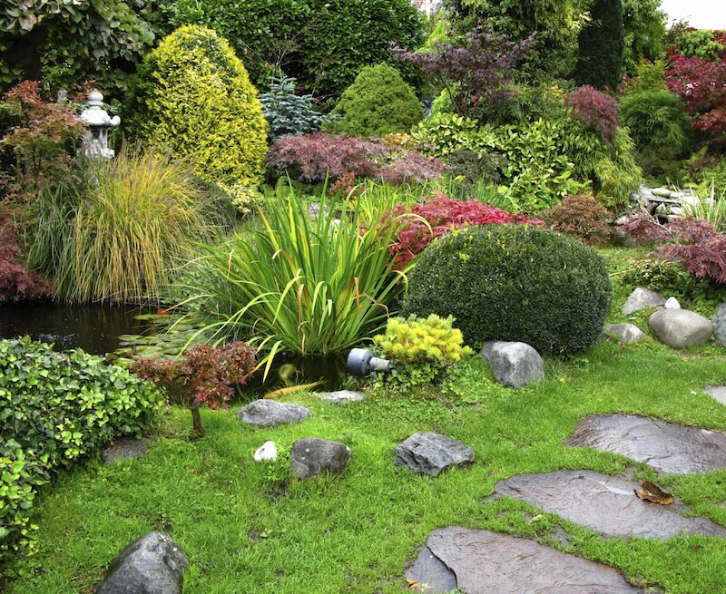 34 vibrant plant garden ideas home stratosphere for Landscaping without plants