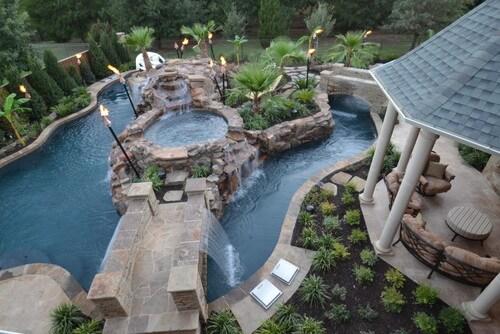 28 Remarkable Backyard Waterpark Ideas