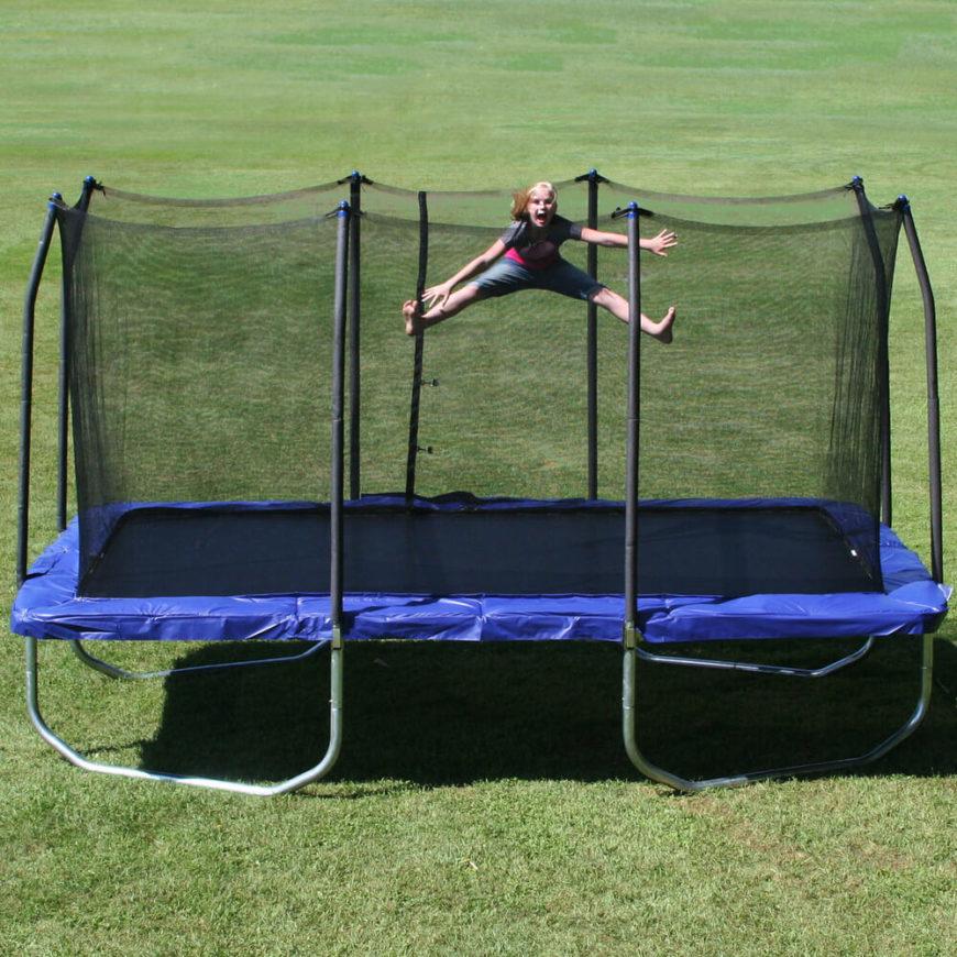 32 fun backyard trampoline ideas for Skywalker trampoline