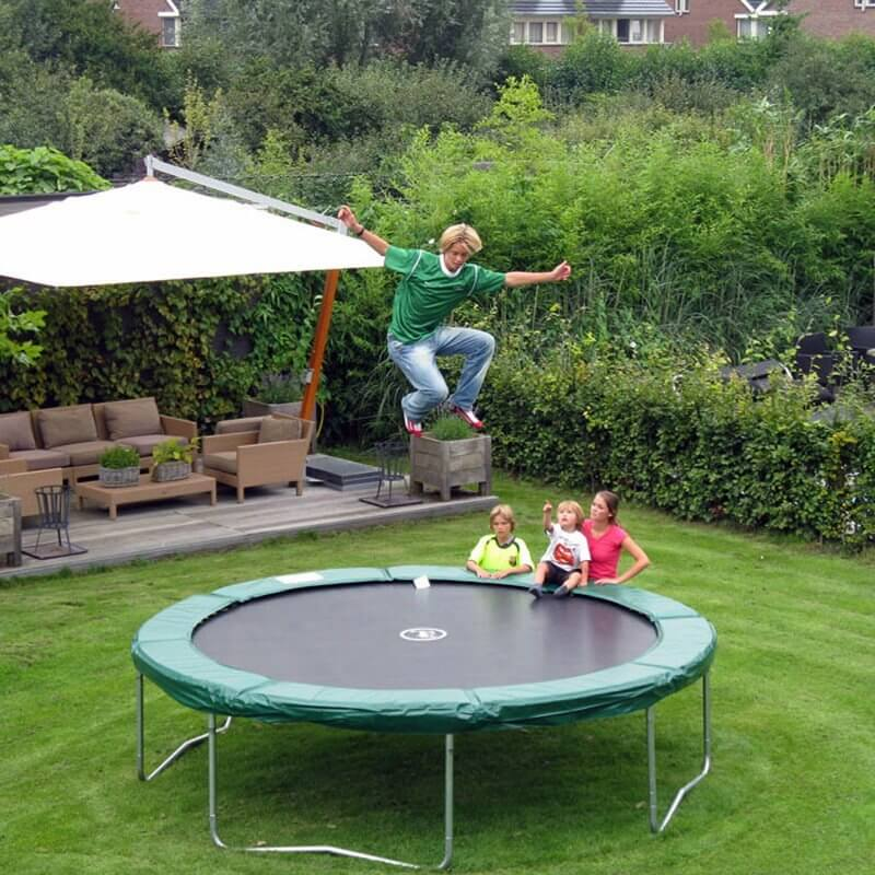 great family activity everyone can enjoy the backyard trampoline
