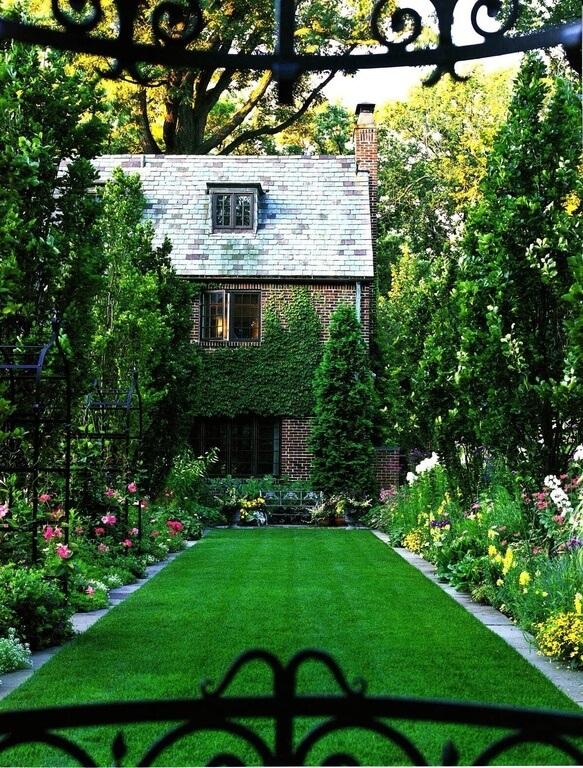 41 luxurious large garden ideas for Large garden design plans