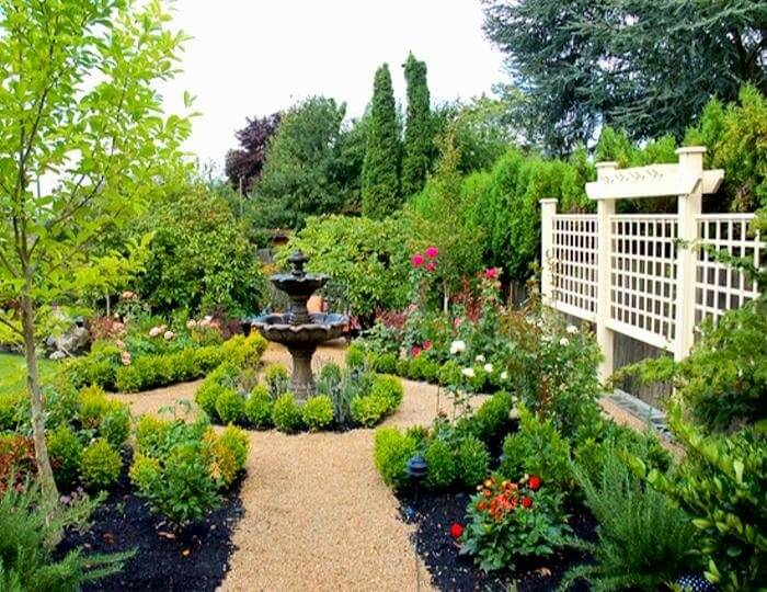 41 luxurious large garden ideas for Dream plants for the natural garden