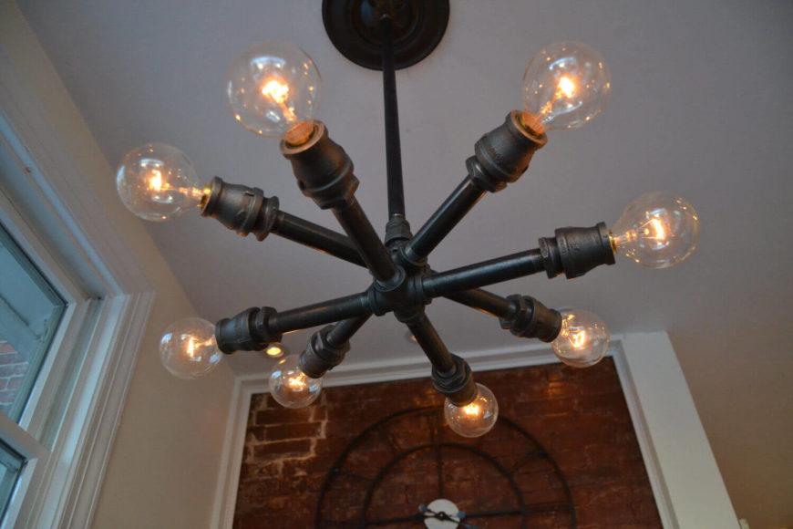 Rustic  Bulb Kitchen Light