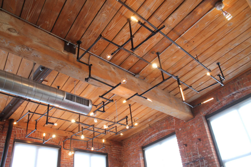 34 Industrial Lighting Ideas For Your Home D 233 Coration De