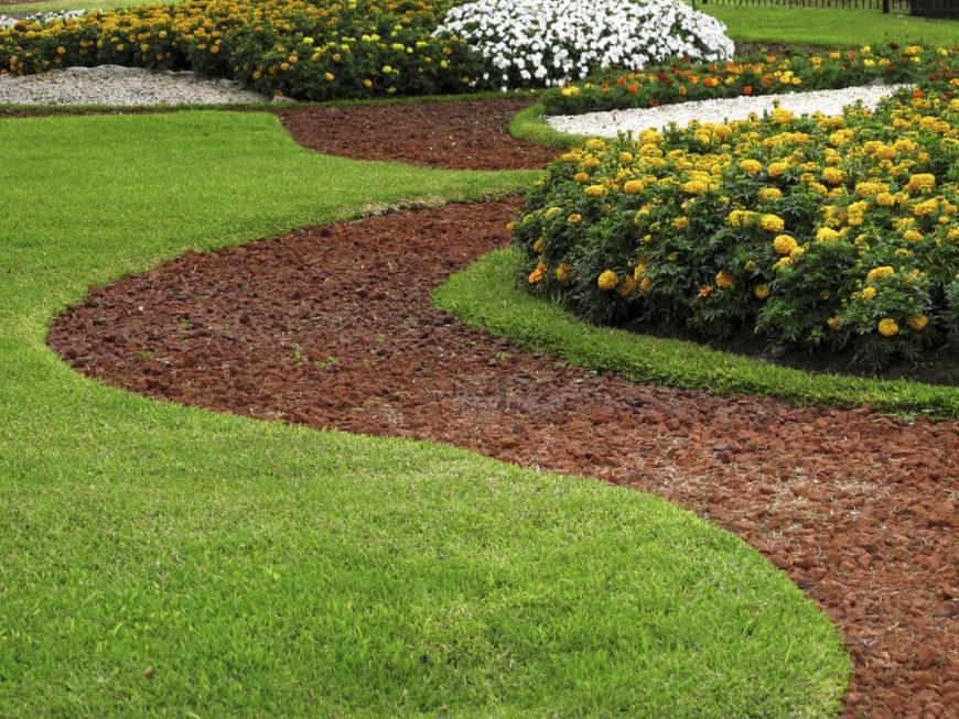 Backyard Ground Cover Ideas filling gaps many groundcover 40 Remarkable Backyard Grass Ideas