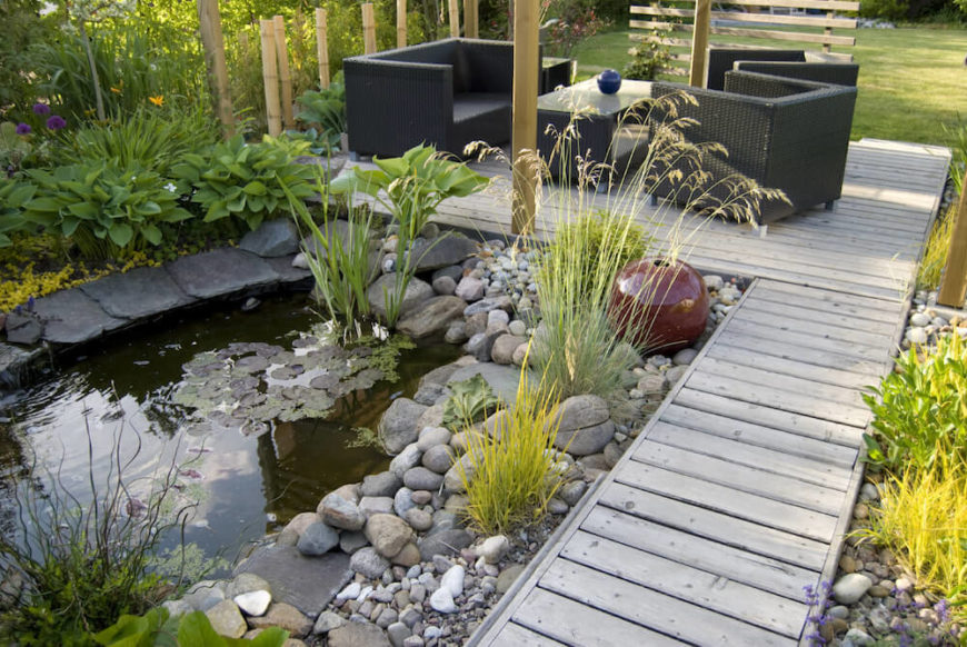 40 Remarkable Backyard Grass Ideas